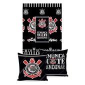 Manta Almofada Time Corinthians Jolitex Ternille