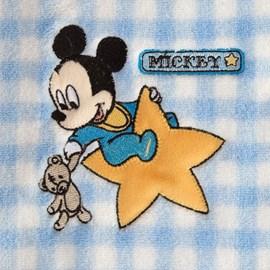 Manta Baby Bordada Jolitex Mickey na Estrela