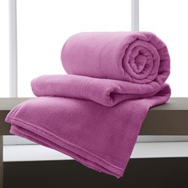 Manta Casal Corttex Rosa Chiclete Home Design