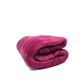 Manta Casal Fleece Microfibra Lisa Andreza