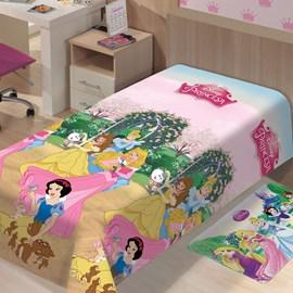 Manta Microfibra Soft Princesas Solteiro Jolitex