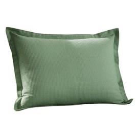 Porta Travesseiro Dohler Verde Piquet Liso