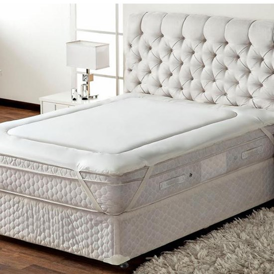 Protetor de Colchão Casal Pillow Top Trisoft