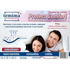 Protetor de Colchão Impermeável King Protect Comfort Temima