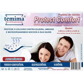 Protetor de Colchão Impermeável Queen Protect Comfort Temima
