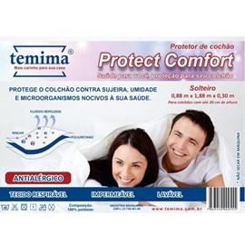 Protetor de Colchão Impermeável Solteiro Protect Comfort Temima