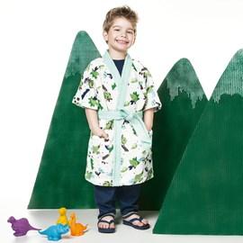 Roupão Infantil Felpudo Dinossauro Lepper