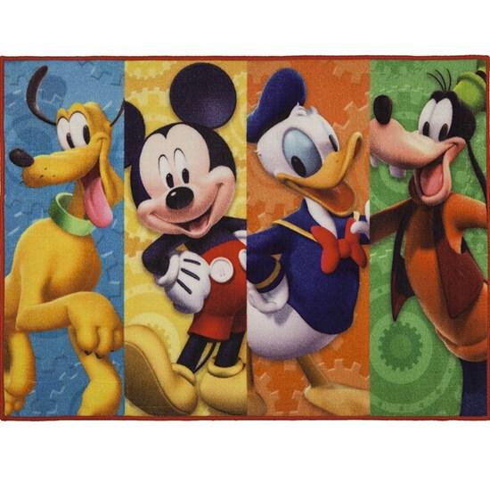 Tapete Decorativo Corttex Disney Mickey