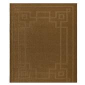Tapete J Serrano Realce Frame 1,00m x 1,50m Caramelo
