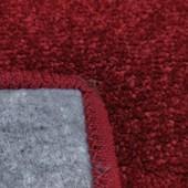 Tapete J Serrano Realce Frame 1,00m x 1,50m Vermelho