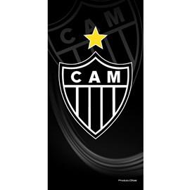 Toalha de Banho Bouton Veludo Times Atlético Mineiro