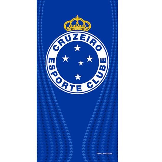 Toalha de Banho Bouton Veludo Times Cruzeiro II