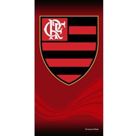Toalha de Banho Bouton Veludo Times Flamengo
