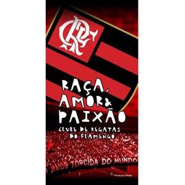 Toalha de Banho Bouton Veludo Times Flamengo II