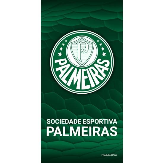 ade78503b4289 Toalha de Banho Bouton Veludo Times Palmeiras I