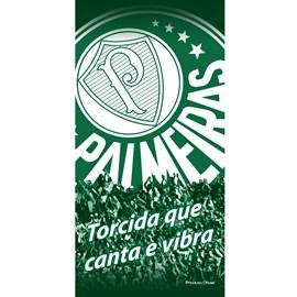 Toalha de Banho Bouton Veludo Times Palmeiras II
