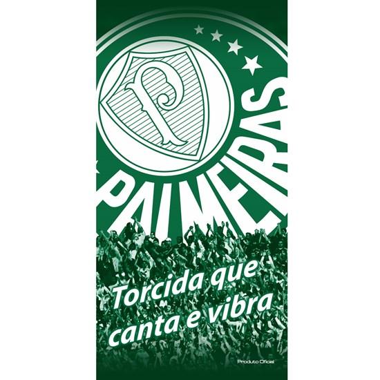 1bafcd9740bb1 Toalha de Banho Bouton Veludo Times Palmeiras II - LepinEnxovais