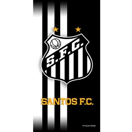 Toalha de Banho Bouton Veludo Times Santos I