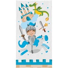 Toalha de Banho Infantil Felpuda Lepper Cavaleiro