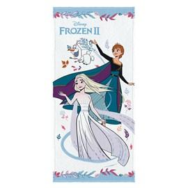 Toalha de Banho Infantil Felpuda Lepper Frozen Estampa 4