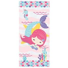 Toalha de Banho Infantil Felpuda Lepper Oceano Colorido