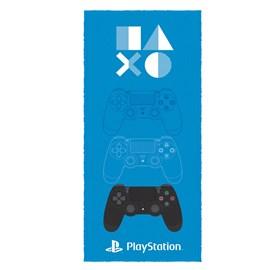 Toalha de Banho Infantil Felpuda Lepper Playstation Estampa 1