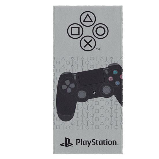 Toalha de Banho Infantil Felpuda Lepper Playstation Estampa 5