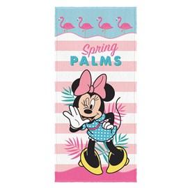 Toalha de Banho Infantil Lepper Minnie Mouse Avulsa