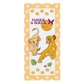 Toalha de Banho Infantil Lepper O Rei Leão Avulsa