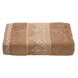 Toalha de Banho Premium Barroca Marrom