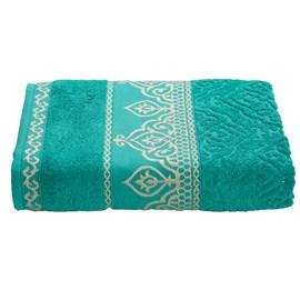 Toalha de Banho Premium Barroca Verde Tiffany