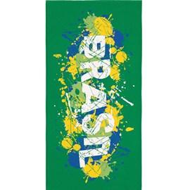 Toalha de Banho Veludo Avulsa Brasil Arte Lepper