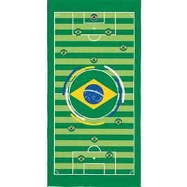 Toalha de Banho Veludo Avulsa Brasil Listras Lepper