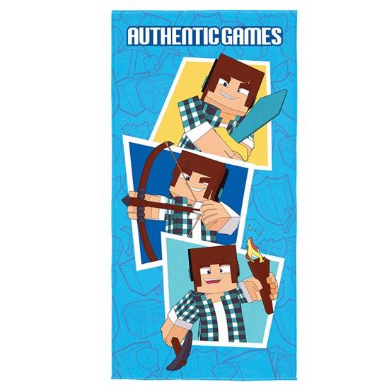 Toalha de Banho Veludo Infantil Authentic Games Lepper