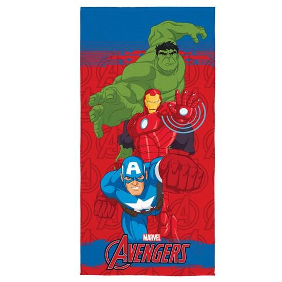 Toalha de Banho Veludo Infantil Avengers II Lepper