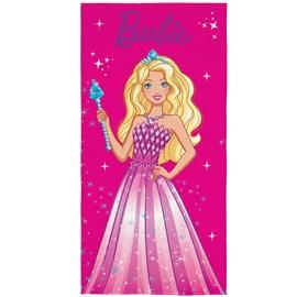 Toalha de Banho Veludo Infantil Barbie Lepper