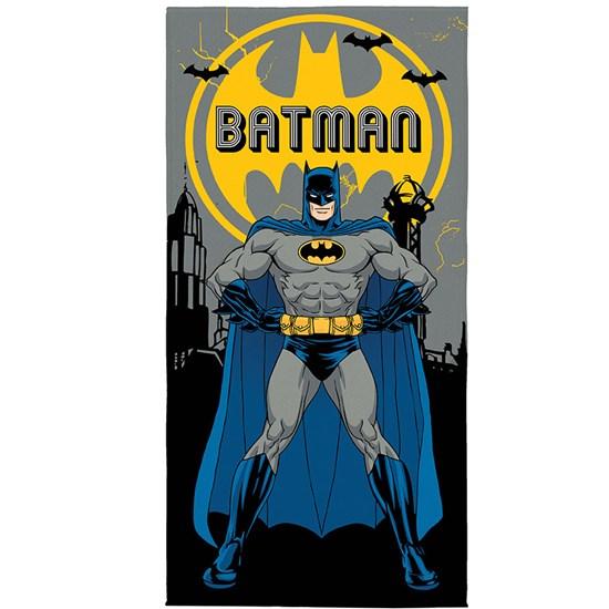 Toalha de Banho Veludo Infantil Batman Lepper