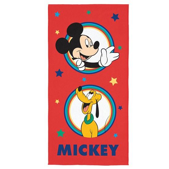 Toalha de Banho Veludo Infantil Mickey Mouse Lepper