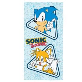 Toalha de Banho Veludo Infantil Sonic Lepper