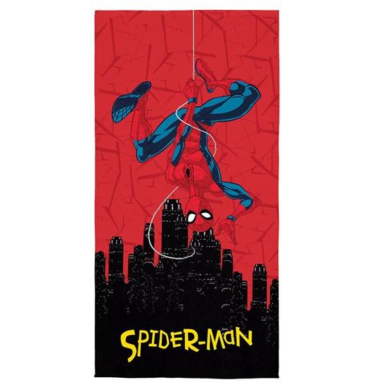 Toalha de Banho Veludo Infantil Spider-Man Lepper