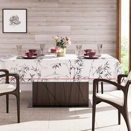Toalha de Mesa Karsten Sempre Limpa 1,78x0 Bamboo