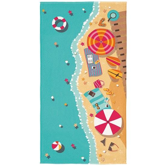 Toalha de Praia Aveludada Lepper Beach Estampa 2