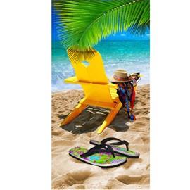Toalha de Praia Bouton Veludo Beach