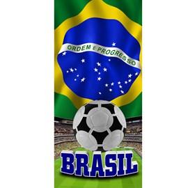 Toalha de Praia Veludo Buettner Brasil Estampa 1