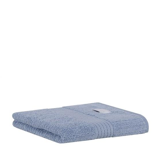 Toalha de Rosto Fio Penteado Canelado Buddemeyer 1250 Azul Claro