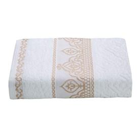 Toalha de Rosto Premium Barroca Branca