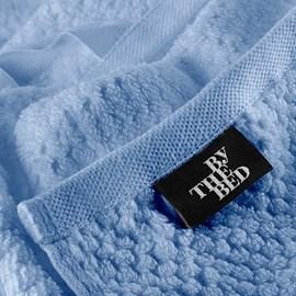 Toalha de Rosto Supreme By The Bed Azul Algodão Egípcio