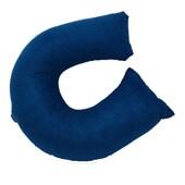 Travesseiro de Pescoço Hedrons Teal Azul