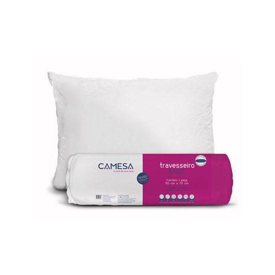 Travesseiro Rolinho Basic 45cm x 65cm Camesa